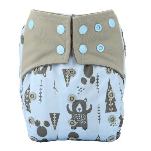 Sigzagor All-In-One AIO Reusable Cloth Diaper