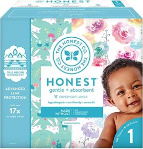 The Honest Company Diapers with TrueAbsorb Technology