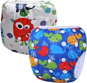 Alvababy Reusable Eco-Friendly Swim Diapers
