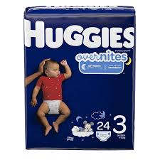 Huggies Overnights Nighttime Diapers