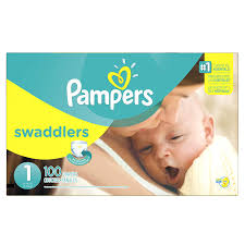 Pampers Swaddlers Disposable Infant Diapers