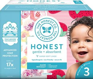 The Honest Company TrueAbsorb Hypoallergenic Diapers