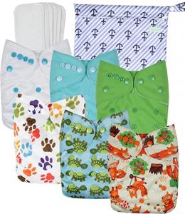 Wegreeco Washable Reusable Baby Cloth Pocket Diapers