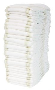 how many diapers do you need per month