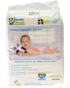 Andy Pandy Eco Friendly Premium Bamboo Disposable Diapers