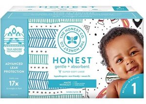 The Honest Company Disposable Diapers with TrueAbsorb Technology