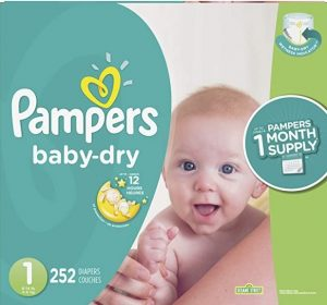 Pampers Baby Dry Disposable Diapers