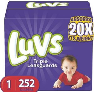 Luvs Ultra Leakguards Disposable Diapers